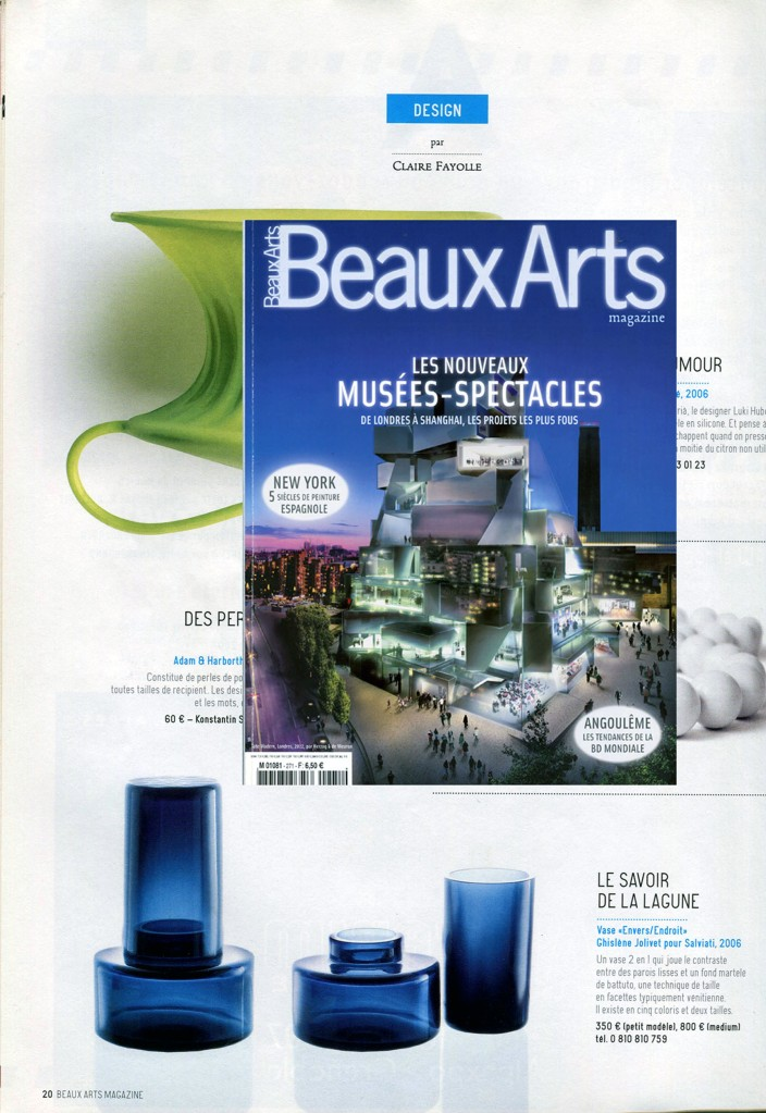Beaux-Arts-france-presse-ghislene-jolivet